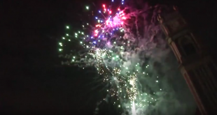 Spectacle pyrotechnique – 13/07/2016