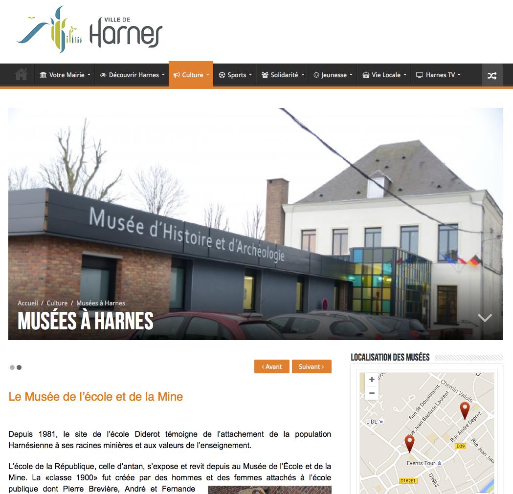 Découvrez les musées de Harnes