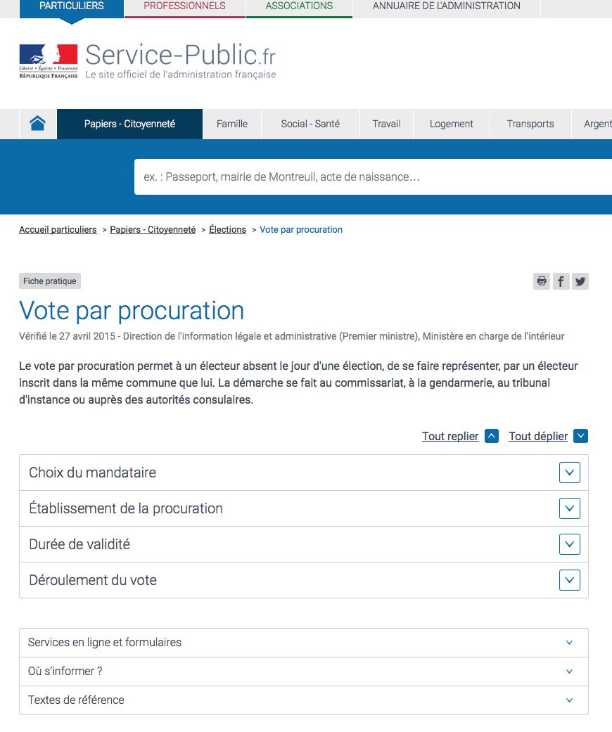 Fiche pratique : Vote par procutration