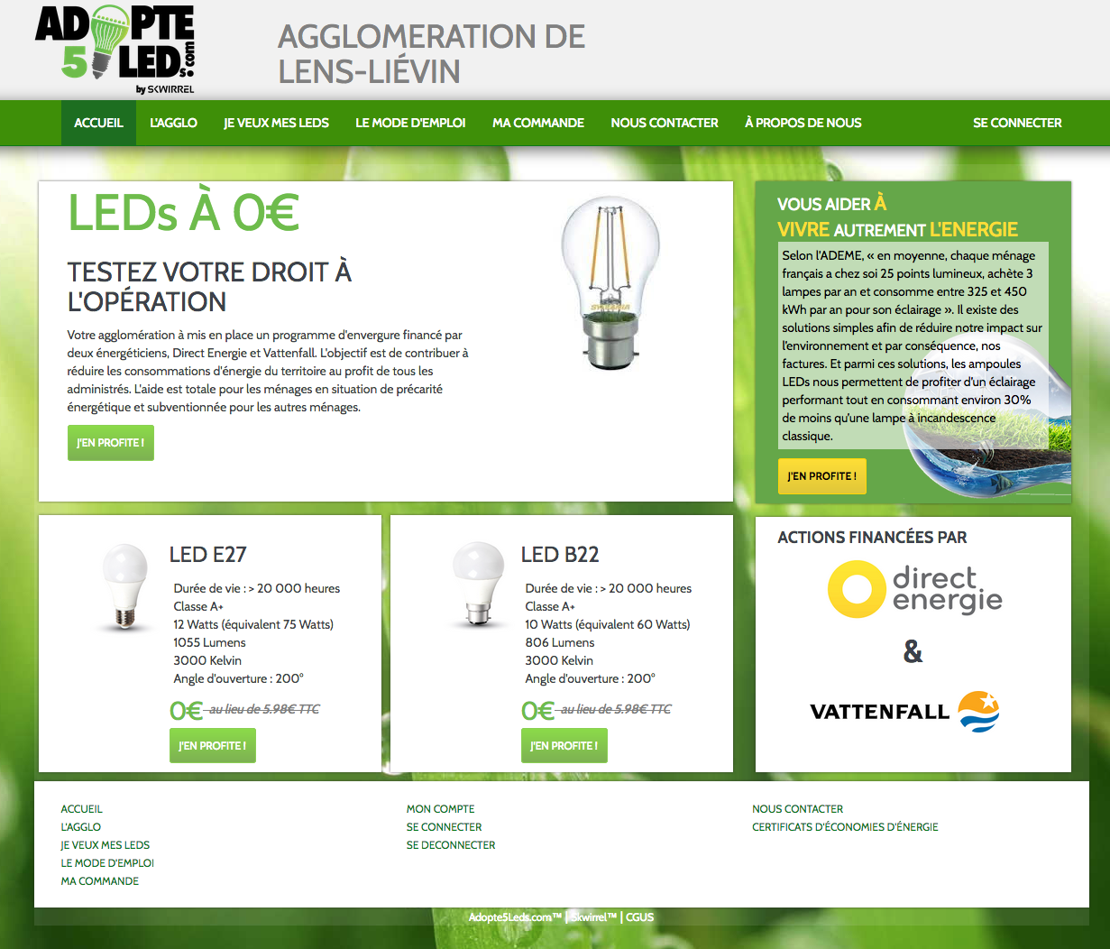 Demandez vos LEDs