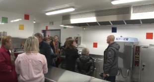 Visite du nouveau restaurant scolaire – 15/02/2018