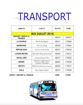 Transport Bus ALSH A. France