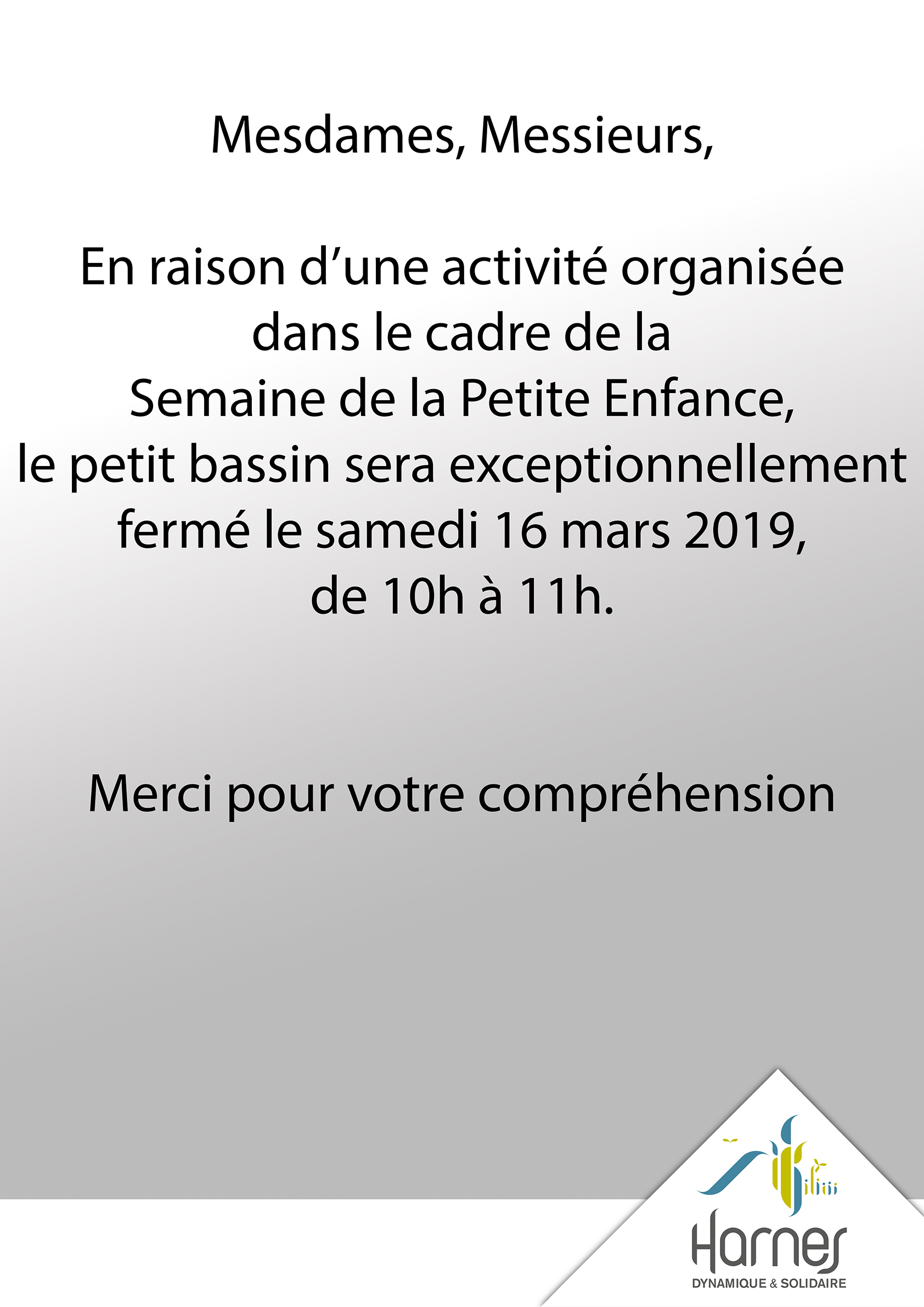 Information relative à la piscine Marius-Leclercq