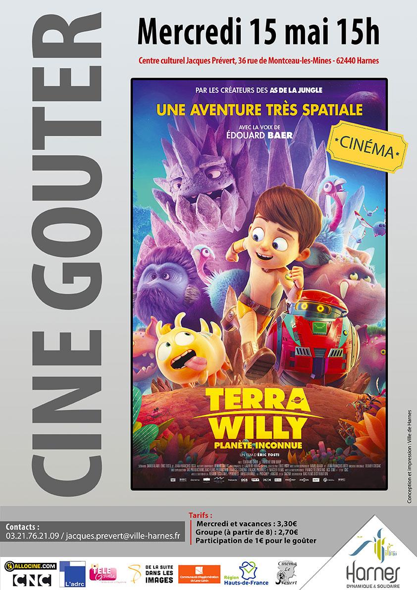 Ciné-goûter Mai 2019